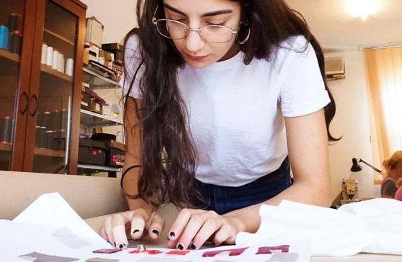 Greta Spadafora tuo Olivinin vaatesuunnitteluun italialaista osaamista.