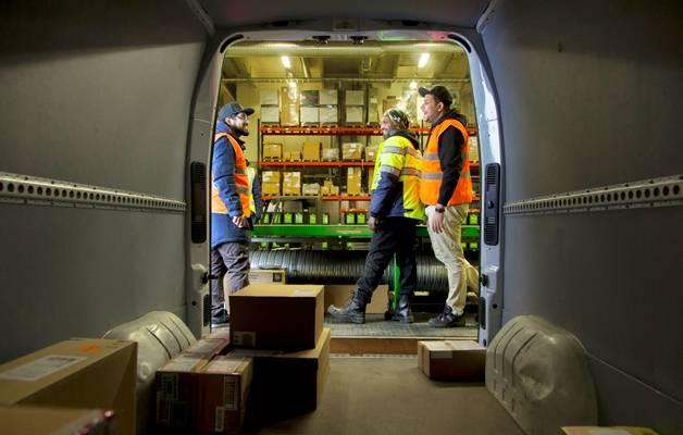 All-Rounders Groupin kautta tekijöitä työllistyy muun muassa logistiikka-alalle.