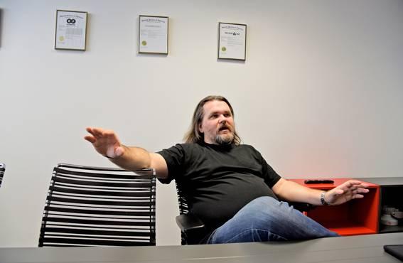RF Elementsin Juraj Taptic haluaa yrityksensä ja sen työntekijöiden sitoutuvan toisiinsa.