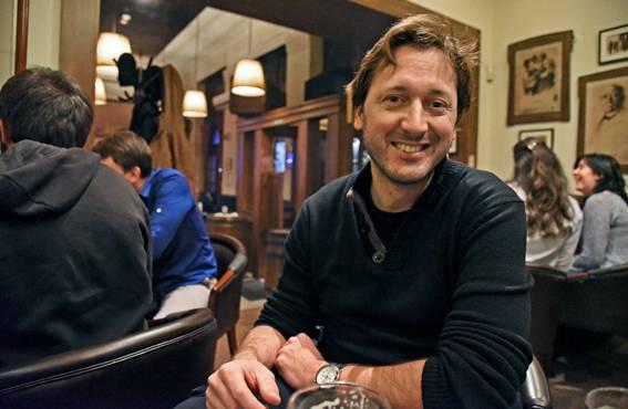 Martin Balek tapaa mielellään myös asiakkaita pubissa.