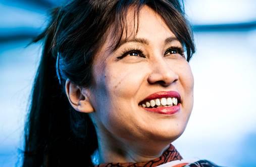 Nafisa Yeasmin haluaa tutkimustyöllään edistää maahanmuuttajien kotoutumista.