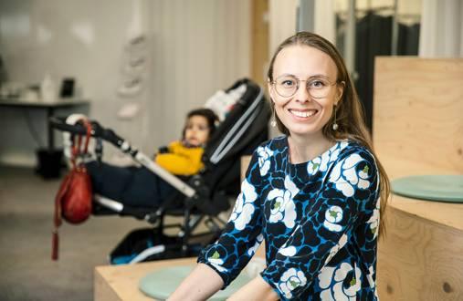 – Haluamme jatkossakin olla urahenkisten äitien ykköspaikka kehittää osaamistaan ja verkostoitua, Annica Moore sanoo.